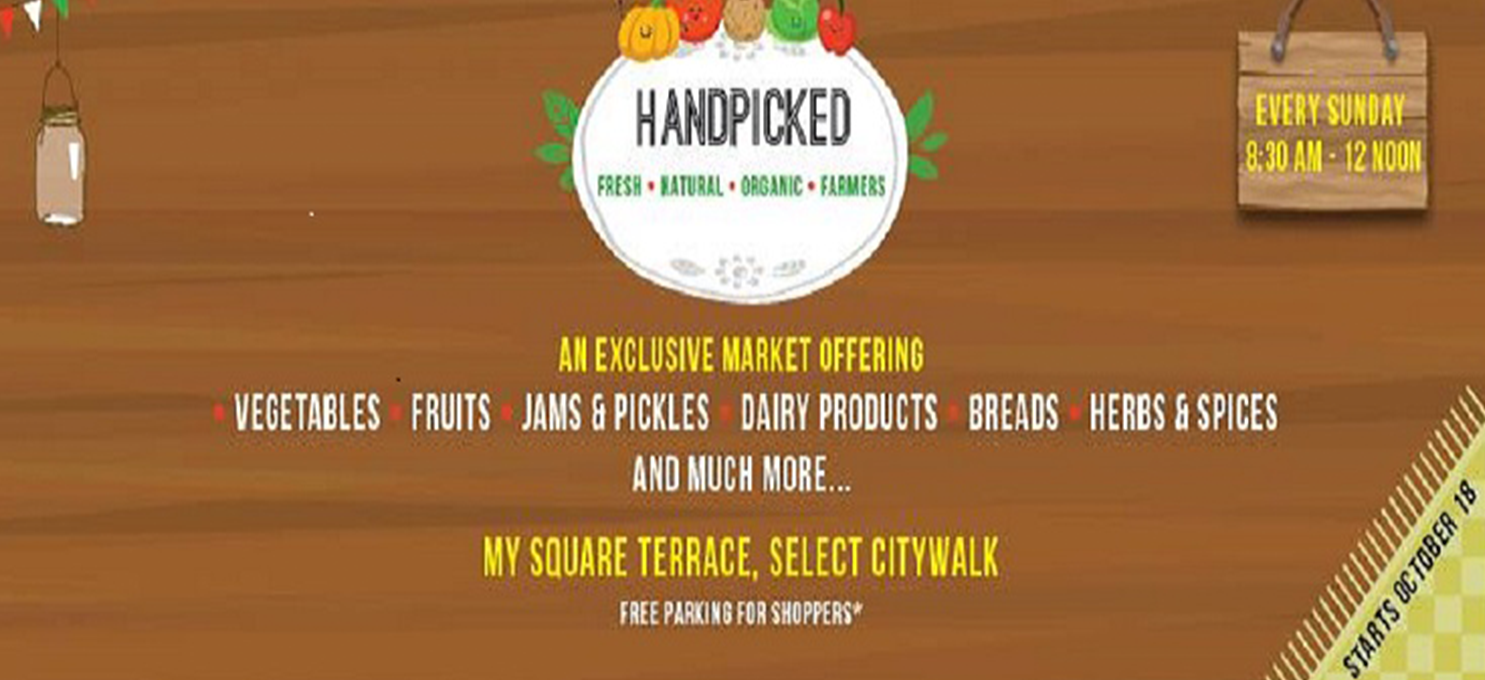 Go Organic –Go 'Handpicked'!