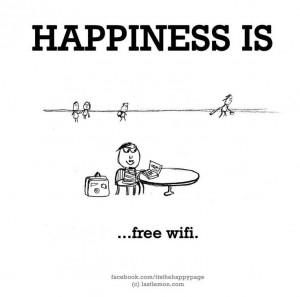 Nothing like free wi-fi