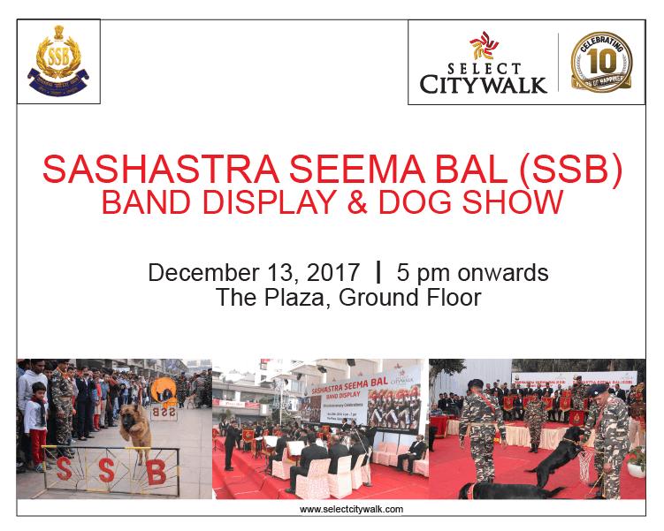 Sashastra Seema Bal (SSB) Band and Dog Show