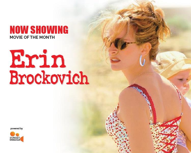 Now Showing   Erin Brockovich