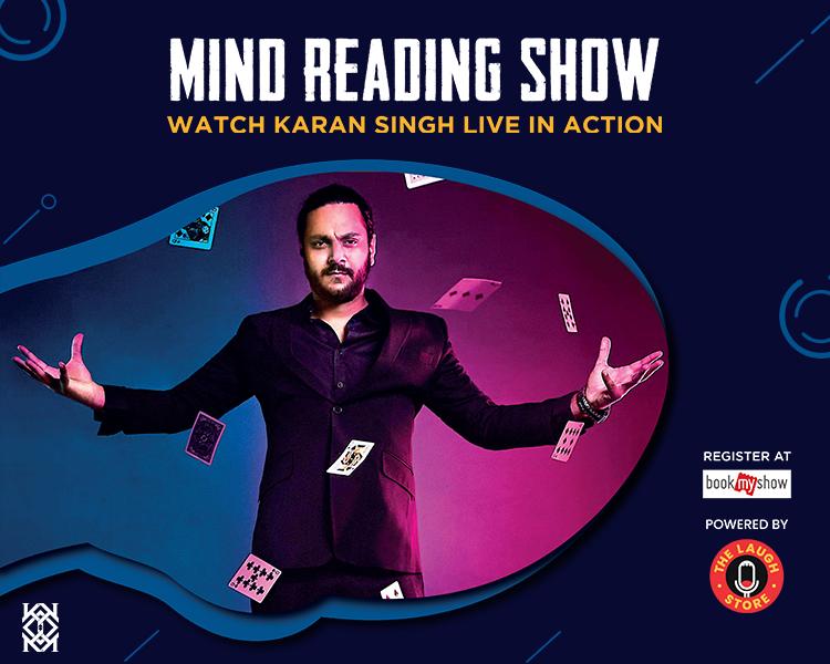 Mind Reading Show Ft. Karan Singh